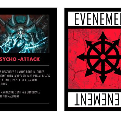 "CARTES ""EVENEMENT"""