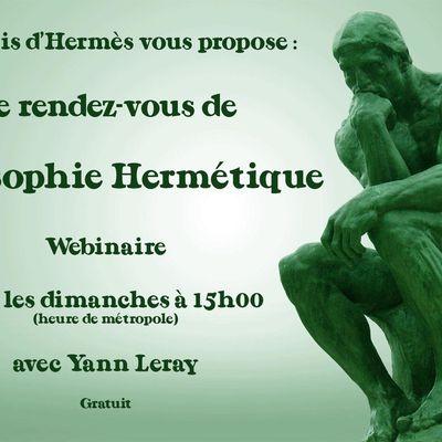 Rendez-vous de Philosophie Hermétique
