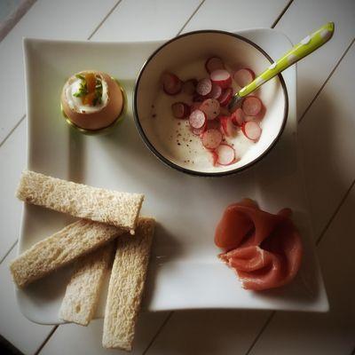 Idée petit-déjeuner salé Weight Watchers