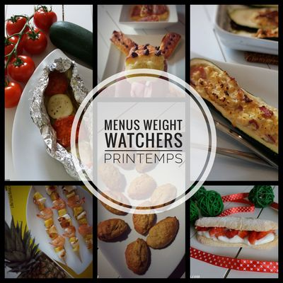 Idées menus Weight Watchers printemps