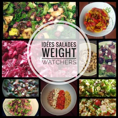 Idées salades Weight Watchers