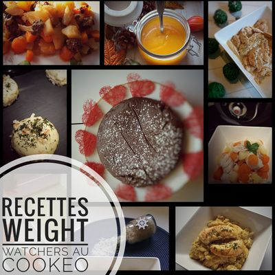 Idées recettes Weight Watchers au Cookeo