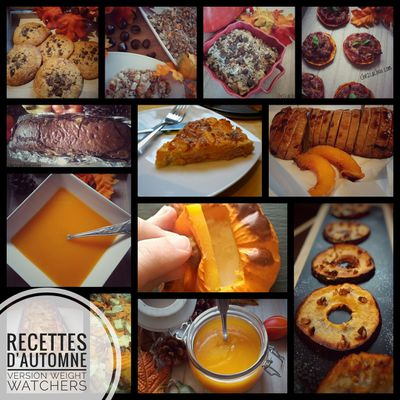 Recettes d'automne version Weight Watchers