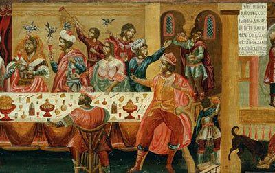 Homélies du 4 ème dimanche après Pâques. Le riche et le pauvre Lazare (2019)