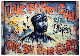 CUZIN HARMONY BAND: 2 PAC, or the 1990s gangsta-rap aesthetic.