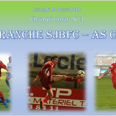 N3 : Villefranche SJBFC - As Cannes