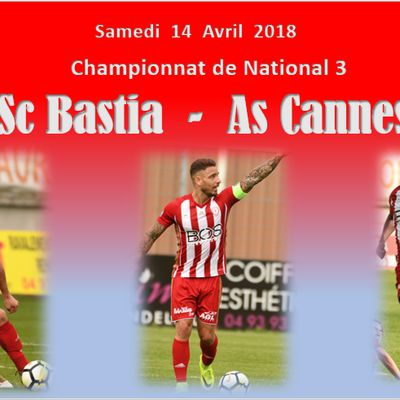 National 3 : Sc Bastia - As Cannes