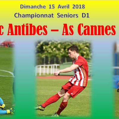 Championnat D1 : Fc Antibes - As Cannes 2