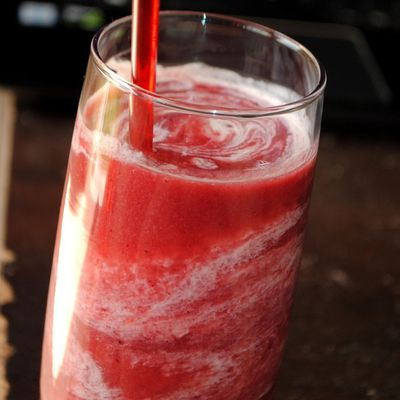 Smoothie aux Fruits rouges & au Yaourt