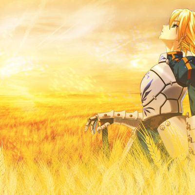 Wallpaper Saber Fate/Stay Night