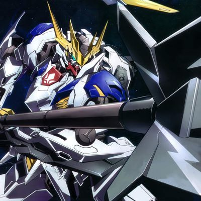 Wallpaper Gundam Barbatos