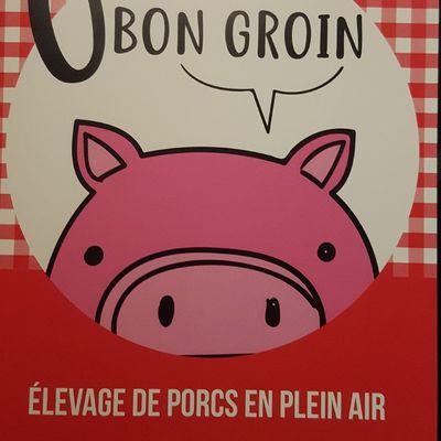 Ô bon groin: élevage de porcs en plein air à Vigeois.