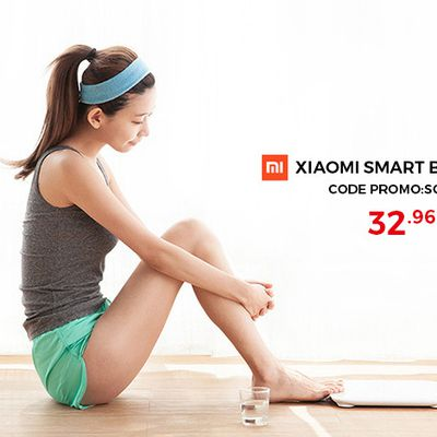 Bons plans: Xiaomi serviette et smart balance!!