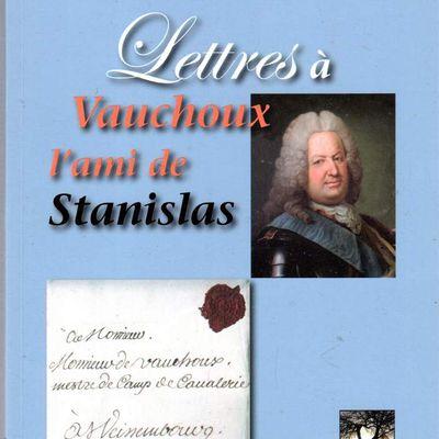 Lettre à Vauchoux , l'ami de Stanislas de Serge Husson