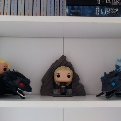 Evolution de ma collection Game of Thrones - 2018