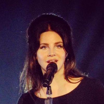 Lana Del Rey en concert à Londres (24/07/2017)
