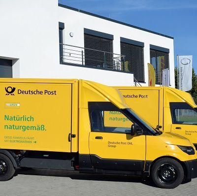 Le groupe Deutsche Post carbure à l'électricité