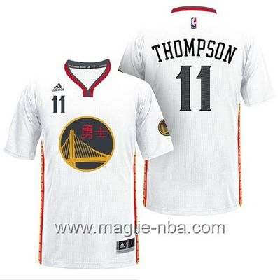 Maglie nba 2017 Klay Thompson #11 Golden State Warriors