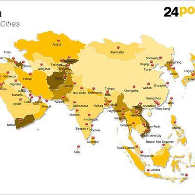 Mengenali 10 Negara di Benua Asia Berikut Ini