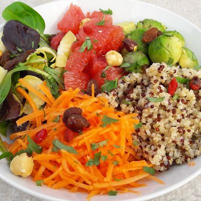 Salade fraîcheur gourmande