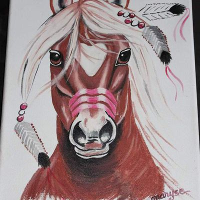 Tableau cheval1