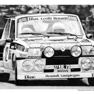 Chatriot/Perin - Renault Maxi 5 turbo - Tour de Corse 1985