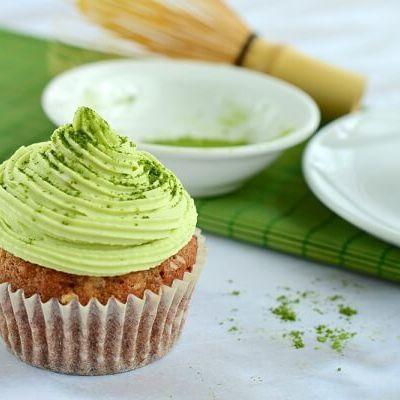 Cách làm bánh cupcake trà xanh