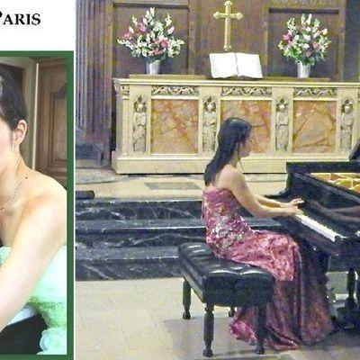 Mayuko Ishibashi à l'Eglise Américaine