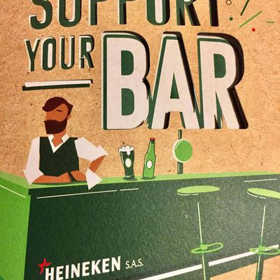 SUPPORT YOUR BAR, l'initiative HEINEKEN !