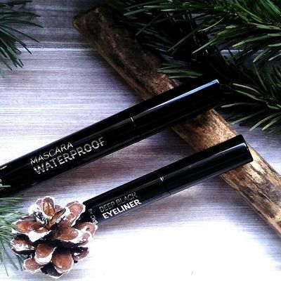 Ce duo catastrophique   |   Deep Black Liquid Eyeliner & Mascara Waterproof de  Cien