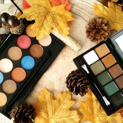 2 Palettes Automnales   |    Happy Country de BYS & Spirit Animal de Sleek Makeup