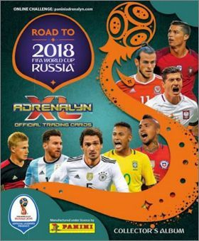 Foot - Road to 2018 Fifa World Cup Russia - Adrenalyn XL Cards panini