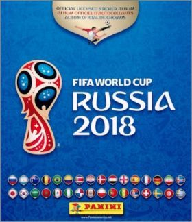 Fifa World Cup Russia 2018 - Stickers Panini (dos noir)