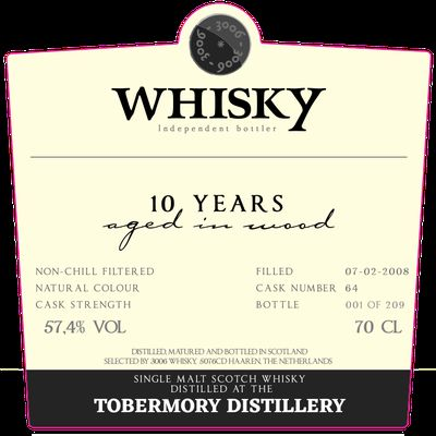 Tobermory 10Y by 3006