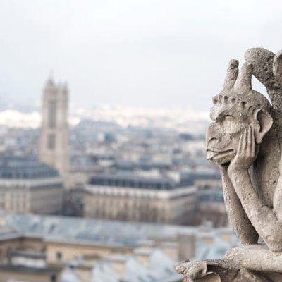 NOTRE DAME DE PARIS BRÛLE.