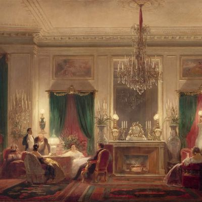 LE SALON DE LA PRINCESSE MATHILDE.