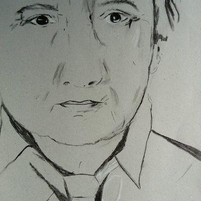 mon premier portrait d'homme