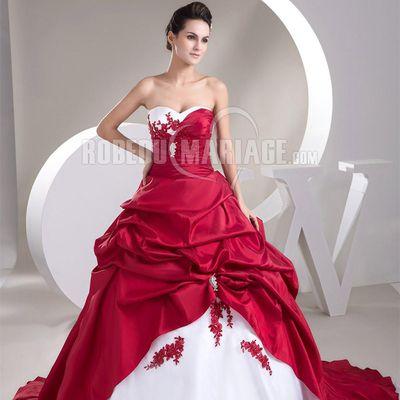 Robe de mariée courte étonnante et brillante