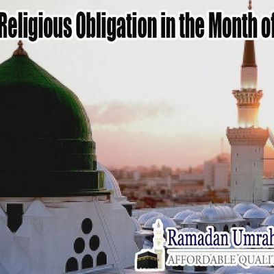 Plan your Religious Obligation in the Month of Ramadan