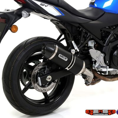 Silencieux Suzuki Sv 650 2016 - 2017 Arrow Giannelli Exo7