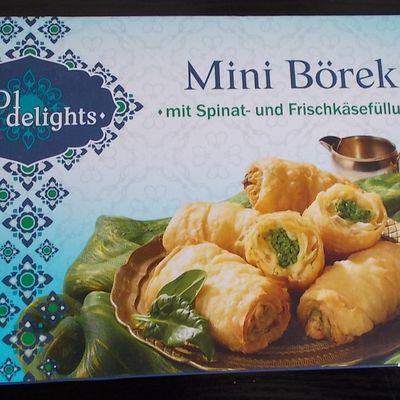 [Lidl] 1001 Delights Mini Börek mit Spinat und Frischkäsefüllung