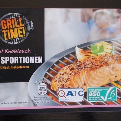 [Aldi Nord] Grill Time Lachsportionen mit Knoblauch