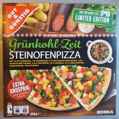 [Edeka] Grünkohl-Zeit Steinofenpizza
