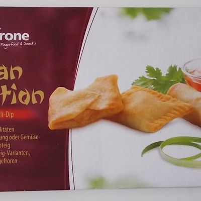 frostkrone Asian Selection mit Sweet-Chili-Dip