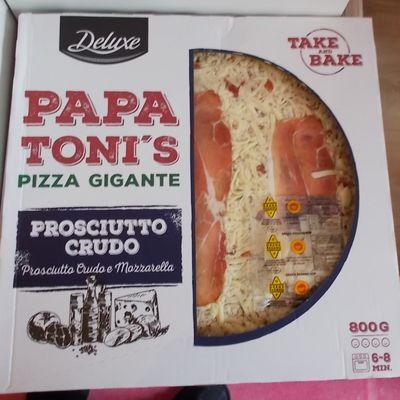 [Lidl] Deluxe Papa Toni's Pizza Gigante Prosciutto Crudo