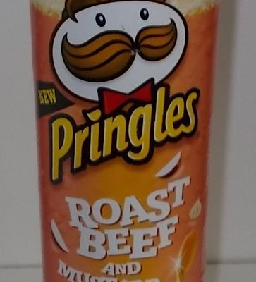Pringles Roast Beef and Mustard Flavour