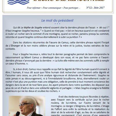 Echo des Rencontres n°12 - Juin 2017