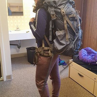 My backpacking trip in the Rockie Mountains!