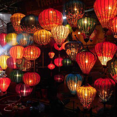 Hoi an. Le coup de foudre sous les lanternes.