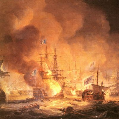15 thermidor an VI,l'explosion de l'Orient en rade d'Aboukir